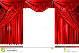 red stage curtain stock illustration image 55643690