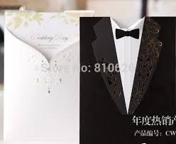 and groom card 25pcs free shipping wedding dress tuxedo the and groom