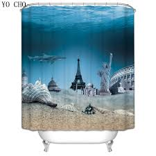 Bathroom Accessory Sets With Shower Curtain by Online Get Cheap Beach Bathroom Accessories Sets Aliexpress Com