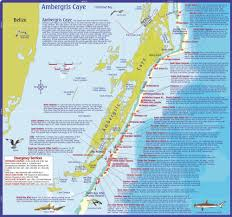 Map Of Central Massachusetts by Dive Belize Map And Info On Dive And Snorkeling Sites Off
