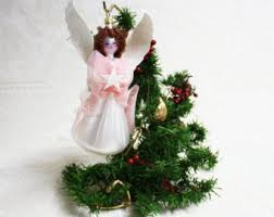 Glass Angels Christmas Decorations by Beach Glass Angel Ornaments Christmas Ornaments Holiday