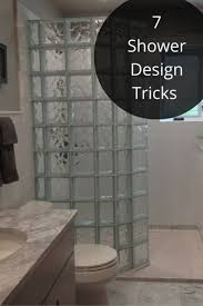 Shower Wall Ideas by Best 25 Glass Block Shower Ideas On Pinterest Bathroom Shower