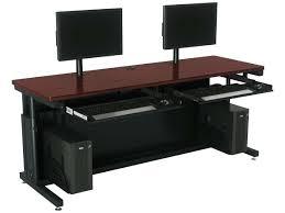 computer desk for dual monitors desk monitor computer desk dual purpose computer desks
