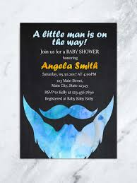 little man mustache baby shower beard baby shower invitation beard u0026 mustache baby shower