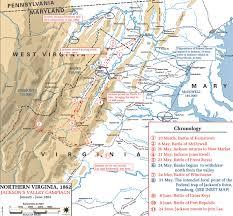 Map Of Keys Of The American Civil War January June 1862