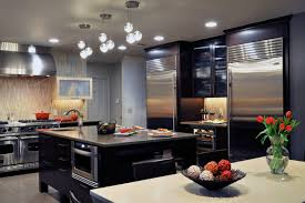 Black And White Kitchen Transitional Kitchen by Kitchen Kitchen Design Black And White Kitchen Design Evanston