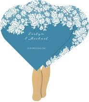 fan shaped wedding programs wedding program fans match your style get free sles