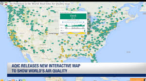 World Map Interactive by Aqic Releases New Interactive Map To Show World U0027s Air Quality