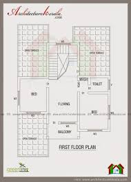 Kerala Home Design First Floor Plan by Low Budget House With Plan Kerala Trends Sqr Feet Single Floor