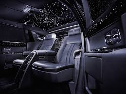 roll royce car inside photos rolls royce phantom starlight headliner business insider