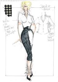 from sketch to still the costumes in my week with marilyn