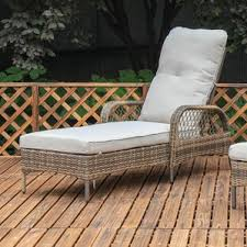 Outdoor Sofa With Chaise Outdoor Lounge Chairs