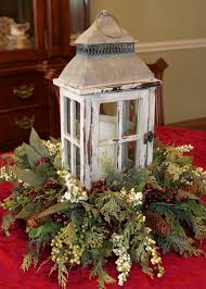 lantern centerpiece winter lantern centerpiece by rosia its the most hanging