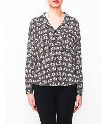elephant blouse print blouse