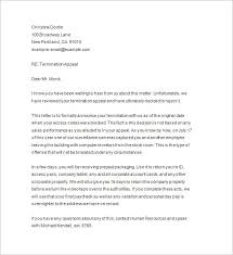 termination notice u2013 12 free samples examples format download