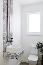 trend patterned bathroom tiles home heart feng shui