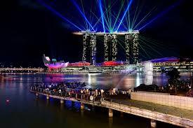 Bay Bridge Light Show File Laser Light Show At The Marina Bay Sands 8584152585 Jpg