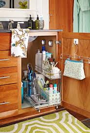 how to organize the sink cabinet 19 clever ways to organize bathroom cabinets better homes