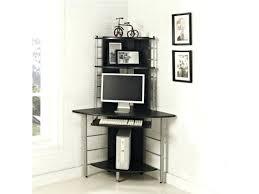 bureau ordinateur angle bureau ordinateur d angle bureau dangle pour pc compact noir