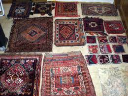 Old Persian Rug by Hooked Rugs Oriental Rugs Folk Art