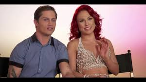 lexus bolton team sharna burgess and bonner bolton first interview dwts24 youtube
