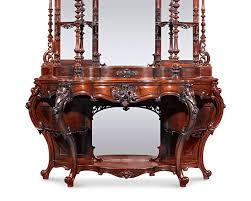 Antique Etagere Rococo Revival Rosewood étagère By Thomas Brooks Furnishing