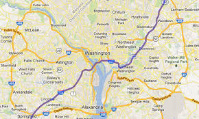 washington dc region map maps now send through travelers into dc greater greater
