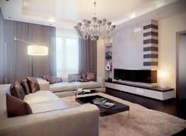 Contemporary Livingrooms Living Room Gray Sofa Brown Coffee Table Fireplace Attractive