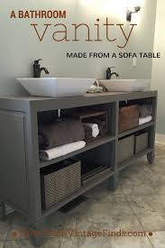 How To Make A Bathroom Vanity by How To Build A Custom Vanity Without The Custom Price Tag Farm