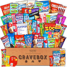 sick person care package catered cravings sweet and salty snacks gift basket
