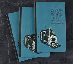 an idea journal packed with inspirational photography quotes