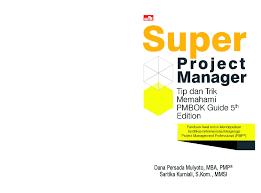 jual buku super project manager tip u0026 trik memahami pmbok guide