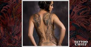Wing Back Tattoos For - chief a land of many ideas designs 698