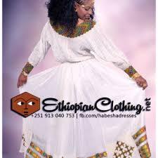 New Traditional Habesha Dress Ethiopian Clothing Wedding Ideas