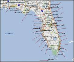 map of west coast of florida map of gulf coast florida map of usa states