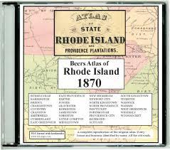Ri Map Ri 1870 Atlas Cdrom