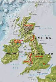 England On A World Map by Map Of The Great Britain Talk And Chats All About Life
