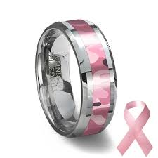 pink camo wedding rings tungsten carbide ring pink camouflage camouflage wedding ring