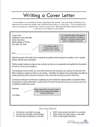 writing your cover letter free resumes tips