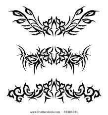 management fonts hip tattoos for stock vector