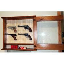 Pine Gun Cabinet 620 Pine Pistol Cabinet
