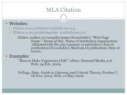 how to cite websites in mla format with no author