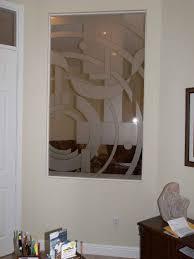 Glass Room Divider Etched Glass Room Dividers Sgo Designer Glass