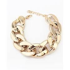 simple chain bracelet images Punk simple chunky chain bracelet ac1050001 2 jpg