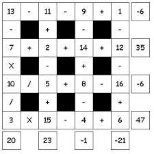 collections of math puzzle with answers easy worksheet ideas