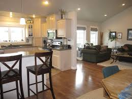 Open Kitchen And Living Room Floor Plans by Open Kitchen And Living Room Paint Ideas