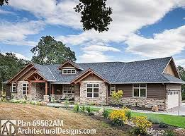 Ranch Floor Plans Plan 69582am Beautiful Northwest Ranch Home Plan Craftsman