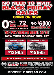 black friday car sales 2017 38 best woodfield nissan auto specials images on pinterest