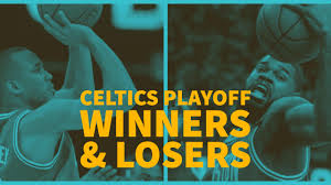 a sherrod blakely boston celtics playoff winners and losers
