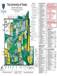 Uh Campus Map Main Campus Map Univ Toledo Docshare Tips